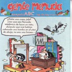 Cómics: ......GENTE MENUDA SEMANARIO JUVENIL DE ABC III EPOCA Nº 233. Lote 23128632