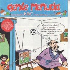 Cómics: ......GENTE MENUDA SEMANARIO JUVENIL DE ABC III EPOCA Nº 228. Lote 23128667