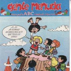 Cómics: ......GENTE MENUDA SEMANARIO JUVENIL DE ABC III EPOCA Nº 214. Lote 23128814