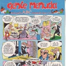 Cómics: ......GENTE MENUDA SEMANARIO JUVENIL DE ABC III EPOCA Nº 211. Lote 23128833