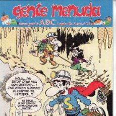 Cómics: ......GENTE MENUDA SEMANARIO JUVENIL DE ABC III EPOCA Nº 195. Lote 23128940