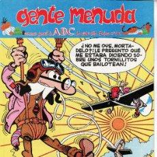 Cómics: ......GENTE MENUDA SEMANARIO JUVENIL DE ABC III EPOCA Nº 309. Lote 23127867