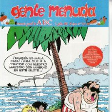 Cómics: ......GENTE MENUDA SEMANARIO JUVENIL DE ABC III EPOCA Nº 294. Lote 23128015