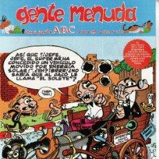 Cómics: ......GENTE MENUDA SEMANARIO JUVENIL DE ABC III EPOCA Nº 277. Lote 23128174