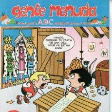 Cómics: ......GENTE MENUDA SEMANARIO JUVENIL DE ABC III EPOCA Nº 268. Lote 23128257