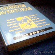 Cómics: GRANDES AVENTURAS. TOMO 2. ENCUDERNADO Y COMPLETO. 25 HISTORIAS. COMIC EXCELENTE. EL PERIODICO.. Lote 121413267