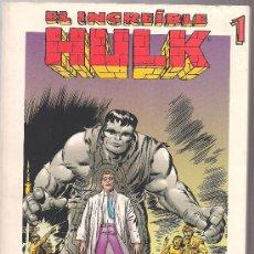 Cómics: EL INCREÍBLE HULK 1. COLECCIÓN GRANDES HÉROES DEL CÓMIC. 194 PÁGINAS.. Lote 27598981