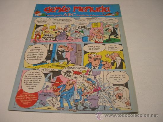05/11 GENTE MENUDA, SUPLEMENTO SEMANAL DEL DIARIO ABC Nº 211 (Tebeos y Comics - Suplementos de Prensa)