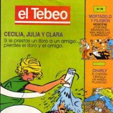 Cómics: EL TEBEO - Nº 99. Lote 28285052
