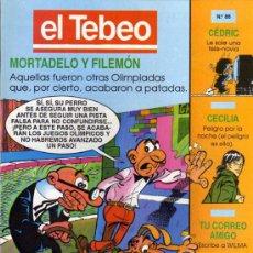 Cómics: EL TEBEO - Nº 86. Lote 28285062