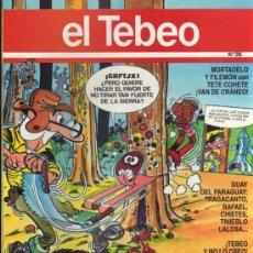 Cómics: EL TEBEO - Nº 35. Lote 28285112