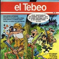 Cómics: EL TEBEO - Nº 31. Lote 28285116