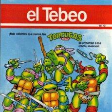 Cómics: EL TEBEO - Nº 13. Lote 28285140