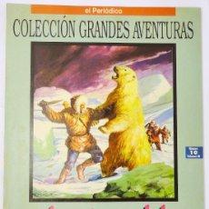 Cómics: COLECCIÓN GRANDES AVENTURAS, EL PERIÓDICO, AVENTURAS DEL CAPITÁN HATTERAS, VOLUMEN III, Nº 10, VERNE. Lote 28584433