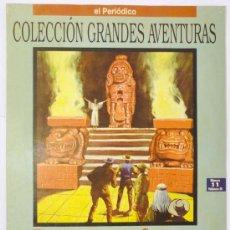 Cómics: COLECCIÓN GRANDES AVENTURAS, EL PERIÓDICO, CAZADORES DE CABELLERAS, VOLUMEN III, Nº 11, MAYNE REID. Lote 28584435