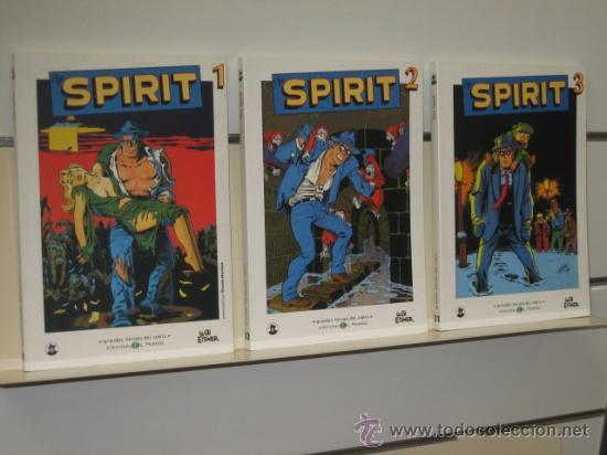 SPIRIT COMPLETA 3 NUM. BIBLIOTECA EL MUNDO (Tebeos y Comics - Suplementos de Prensa)