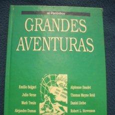 Cómics: COLECCION GRANDES AVENTURAS. EL PERIÓDICO TOMO 3 , COMPLETO Y ENCUADERNADO. Lote 29236861