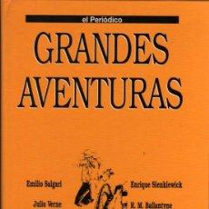 Cómics: TOMO 4 GRANDES AVENTURAS - EL PERIÓDICO - COMPLETO SIN ENCUADERNAR. Lote 29629913