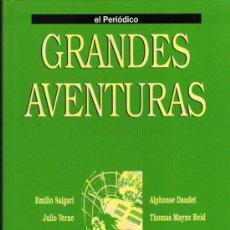 Cómics: TOMO 3 GRANDES AVENTURAS - EL PERIÓDICO - COMPLETO SIN ENCUADERNAR. Lote 29629916