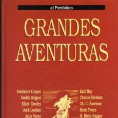 Cómics: TOMO 1 GRANDES AVENTURAS - EL PERIÓDICO - COMPLETO Y ENCUADERNADO. Lote 29629922