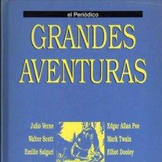 Cómics: TOMO 2 GRANDES AVENTURAS - EL PERIÓDICO - COMPLETO Y ENCUADERNADO. Lote 29629926