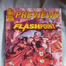 Cómics: REVISTA PREVIEWS - FLASHPOINT- MAYO 2011 - INGLES - MAS DE 400 PAGS. Lote 29721374