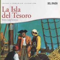 Cómics: JOYAS LITERARIAS JUVENILES - *LA ISLA DEL TESORO* ROBERT LOUIS STEVENSON - EDIC. DE EL PAÍS 2010. Lote 29725045