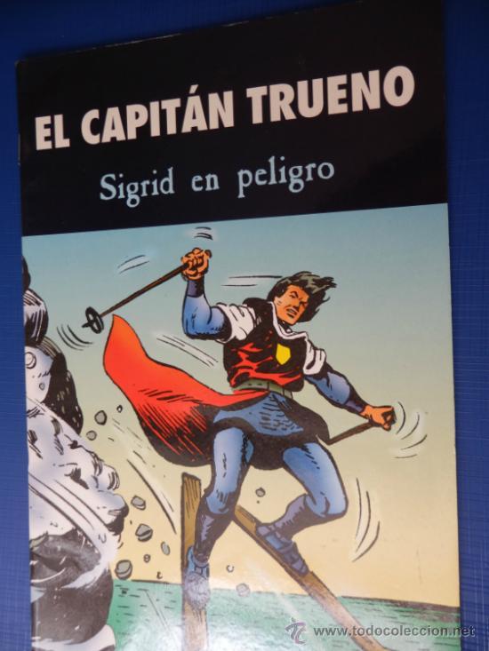 EL CAPITAN TRUENO EDICIONES B PARA EL PERIODICO (Tebeos y Comics - Suplementos de Prensa)