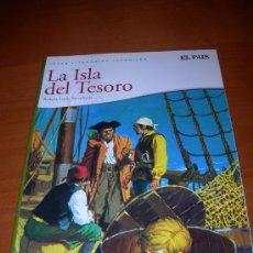 Cómics: JOYAS LITERARIAS JUVENILES - LA ISLA DEL TESORO - REEDICION DE EL PAÍS AÑO 2010. Lote 33397153