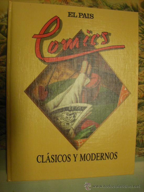 COMICS. CLÁSICOS Y MODERNOS. EL PAÍS. AÑO 1988. (Tebeos y Comics - Suplementos de Prensa)