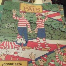 Cómics: COMIC COLECCIONABLE - EL PEQUEÑO PAÍS - Nº 521 - AÑO 1991 - ¿DONDE ESTÁ WALLY? - CMA. Lote 33966409