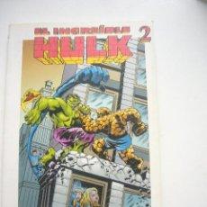 Cómics: EL INCREIBLE HULK 2 GRANDES HEROES DEL COMIC BIBLIOTECA EL MUNDO Nº 15 2003 MARVEL ETX2. Lote 34284011