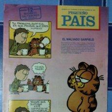 Cómics: COMIC PEQUEÑO PAIS - NUM. 512 AÑO 1991 - EL MALVADO GARFIELD. Lote 61750566