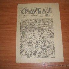 Cómics: SEMANARIO CHAVEAS SUPLEMENTO DE LA TARDE DE MÁLAGA, 1943 . Lote 35590788
