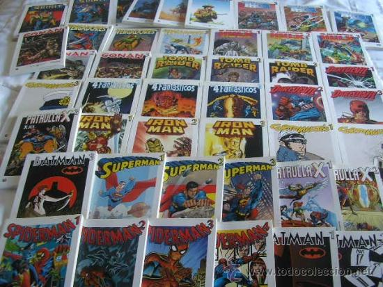 COLECCION COMPLETA - 46 TOMOS- GRANDES HEROES DEL COMIC (Tebeos y Comics - Suplementos de Prensa)
