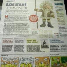 Cómics: NIÑOS. SUPLEMENTO INFANTIL DEL DIARIO PÚBLICO. CUATRO UNIDADES: ABRIL 2008.. Lote 37920926