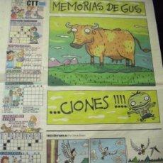 Cómics: PEQUEÑO PAÍS. SUPLEMENTO DE EL PAÍS DOMINGO. 22-06-2008. Lote 37965295