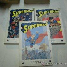 Cómics: SUPERMAN TOMOS 1-2 Y 3 BIBLIOTECA EL MUNDO . Lote 38436667
