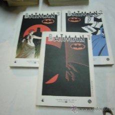 Cómics: BATMAN TOMOS 1-2 Y 3 BIBLIOTECA EL MUNDO . Lote 38436748