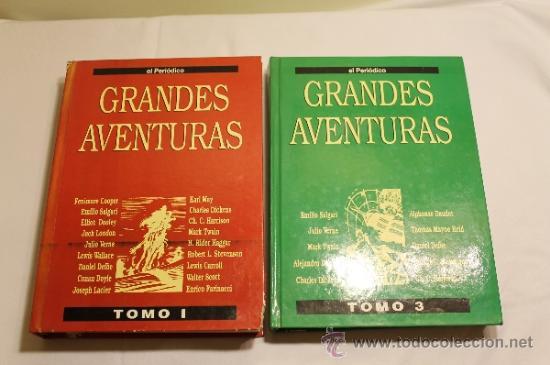Cómics: GRANDES AVENTURAS DE EL PERIÓDICO - TOMOS 1 Y 3 - ENCUADERNADOS Y COMPLETOS - Foto 2 - 38593794