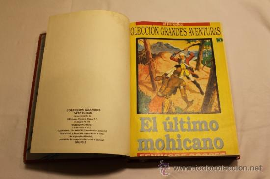 Cómics: GRANDES AVENTURAS DE EL PERIÓDICO - TOMOS 1 Y 3 - ENCUADERNADOS Y COMPLETOS - Foto 3 - 38593794