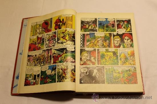 Cómics: GRANDES AVENTURAS DE EL PERIÓDICO - TOMOS 1 Y 3 - ENCUADERNADOS Y COMPLETOS - Foto 4 - 38593794