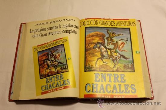Cómics: GRANDES AVENTURAS DE EL PERIÓDICO - TOMOS 1 Y 3 - ENCUADERNADOS Y COMPLETOS - Foto 5 - 38593794
