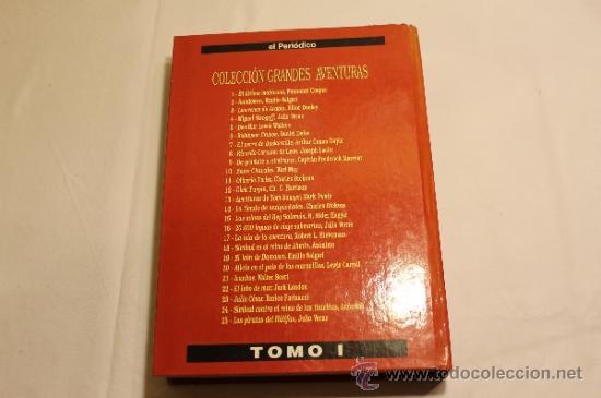 Cómics: GRANDES AVENTURAS DE EL PERIÓDICO - TOMOS 1 Y 3 - ENCUADERNADOS Y COMPLETOS - Foto 8 - 38593794