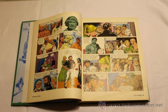 Cómics: GRANDES AVENTURAS DE EL PERIÓDICO - TOMOS 1 Y 3 - ENCUADERNADOS Y COMPLETOS - Foto 10 - 38593794