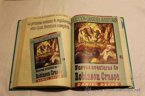 Cómics: GRANDES AVENTURAS DE EL PERIÓDICO - TOMOS 1 Y 3 - ENCUADERNADOS Y COMPLETOS - Foto 11 - 38593794