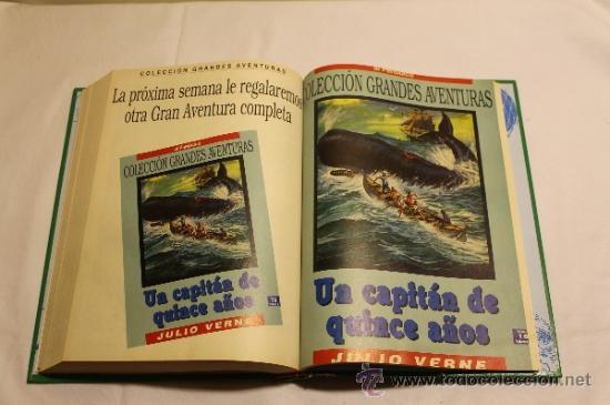 Cómics: GRANDES AVENTURAS DE EL PERIÓDICO - TOMOS 1 Y 3 - ENCUADERNADOS Y COMPLETOS - Foto 13 - 38593794