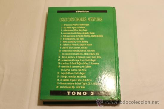 Cómics: GRANDES AVENTURAS DE EL PERIÓDICO - TOMOS 1 Y 3 - ENCUADERNADOS Y COMPLETOS - Foto 14 - 38593794