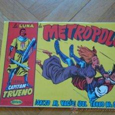 Cómics: LA LUNA DE METROPOLI, Nº 388, ESPECIAL CAPITÁN TRUENO. Lote 38886500