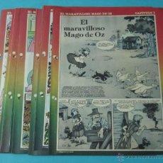 Cómics: EL MARAVILLOSO MAGO DE OZ. CHIQUI DE LA FUENTE. 11 DÍPTICOS DEL PEQUEÑO PAÍS. Lote 184628716